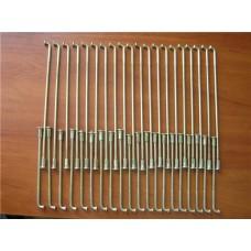 Комплект спиц переменного диаметра 20 коротких 20 длинных